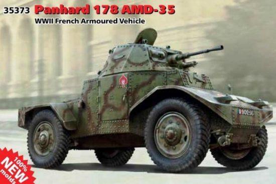 ICM Panhard 178 AMD-35 makett