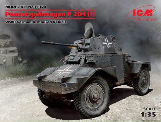 ICM Panzerspahwagen P 204 (f) makett