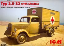 ICM Typ 2,5-32 with Shelter makett