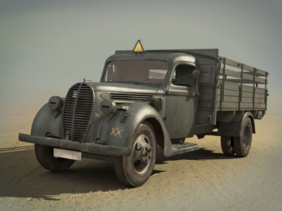 ICM G917T (1939 production), German Army Truck makett