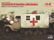 ICM V3000S/SS M Maultier with Shelter makett