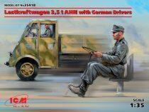 ICM Lastkraftwagen 3,5 t AHN with German Drivers makett