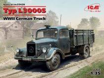 ICM Typ L3000S, WWII German Truck makett