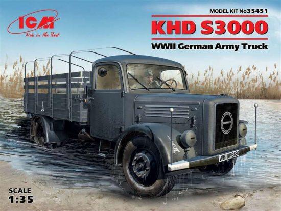 ICM Magirus Deutz KHD S3000 makett