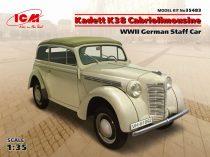ICM Kadett K38 Cabriolimousine,WWII German Staff Car makett