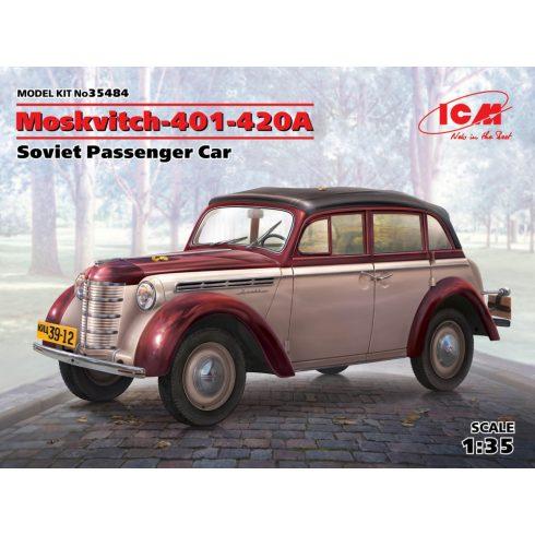 ICM Moskvitch-401-420A,Soviet Passenger Car makett