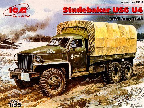 ICM Studebaker US6 U4 makett