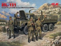 ICM ZIL-131 Soviet Truck w/Motorized Rifles makett