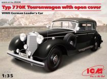 ICM Typ 770K Tourenwagen with open cover makett