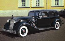 ICM Packard Twelve (Model 1936) makett
