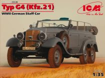 ICM Typ G4 (Kfz.21) German Staff Car makett