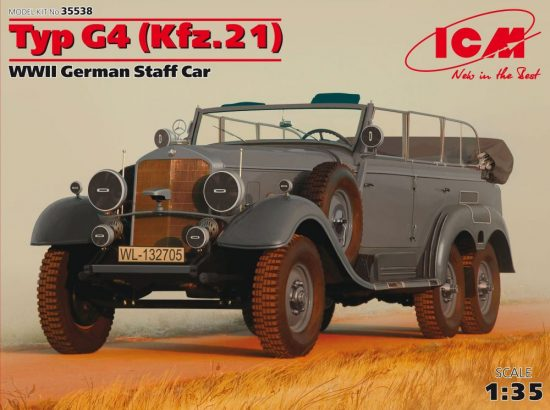 ICM Typ G4 (Kfz.21) German Staff Car