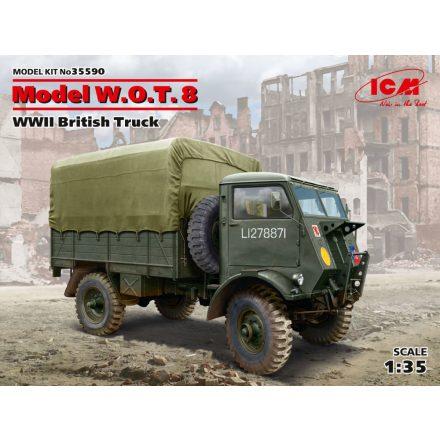 ICM Model W.O.T.8, WWII British Truck makett