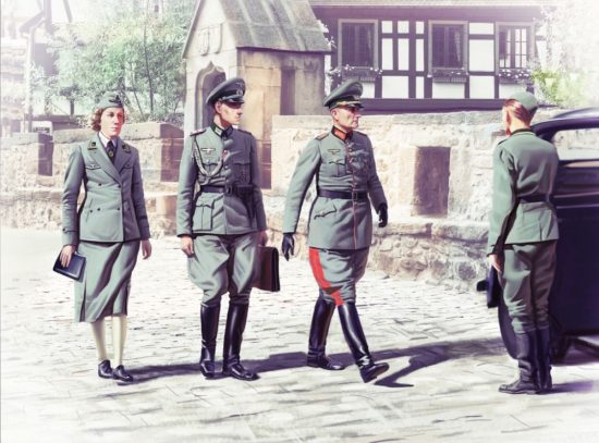 ICM WWII German Staff Personnel