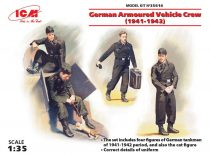 ICM German Armoured Vehicle Crew (1941-1942)