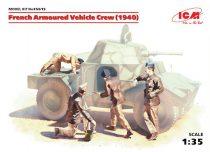 ICM French Armoured Vehicle Crew (1940)