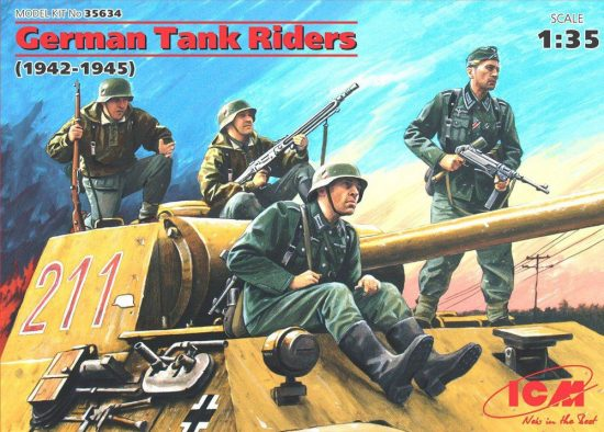 ICM German Tank Riders (1942-1945)
