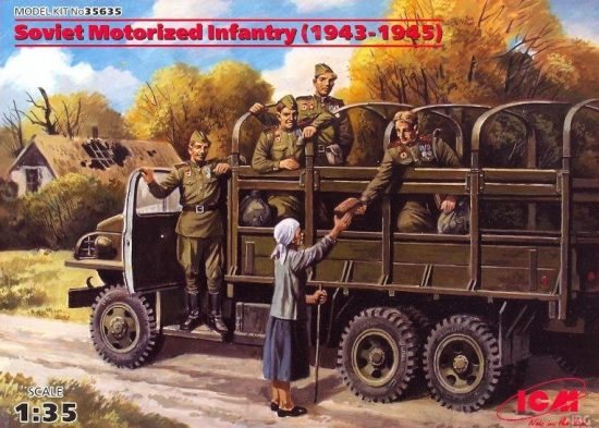 ICM Soviet Motorized Infantry