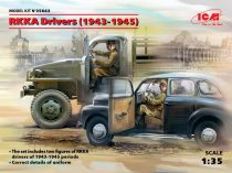 ICM RKKA Drivers 1943-1945 (2 Figures)