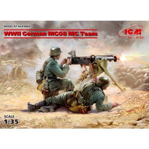ICM WWII German MG08 MG Team