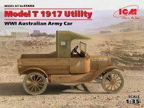 ICM Model T 1917 Utility WWI Australian Army Car makett