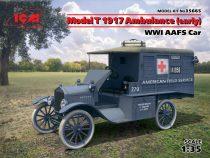 ICM Model T 1917 Ambulance (early) WWI AAFScar makett