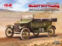 ICM Model T 1917 Touring WWI Australian Army Staff Car makett