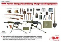 ICM WWI Austro-Hungarian Infantry Weapon and Equipment