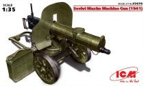 ICM Soviet Maxim Machine Gun (1941) makett