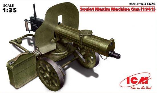 ICM Soviet Maxim Machine Gun (1941)