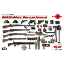 ICM WWI British Infantry Weapons Equipment