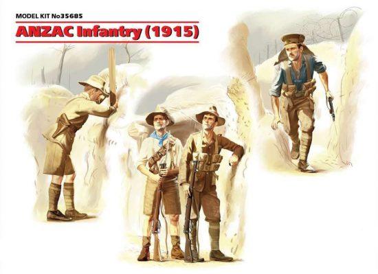 ICM ANZAC Infantry 1915