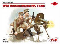 ICM WWI Soviet Maxim MG Team