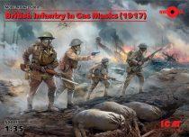ICM British Infantry in Gas Masks 1917