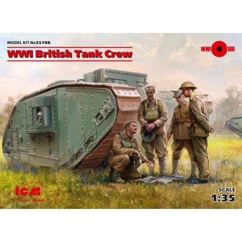 ICM WWI British Tank Crew