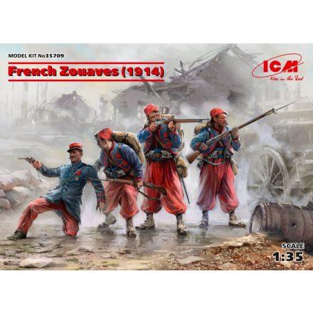ICM French Zouaves 1914