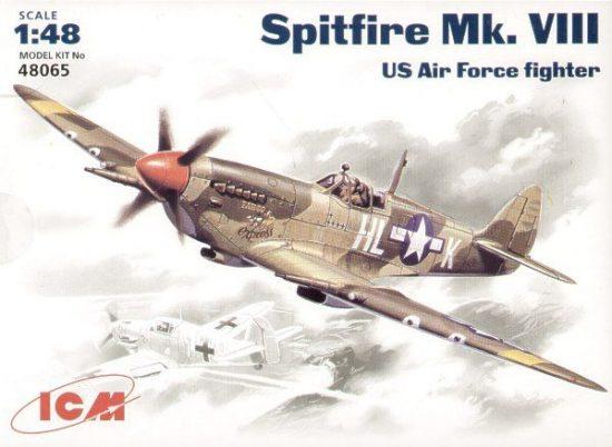 ICM Spitfire Mk.VIII makett