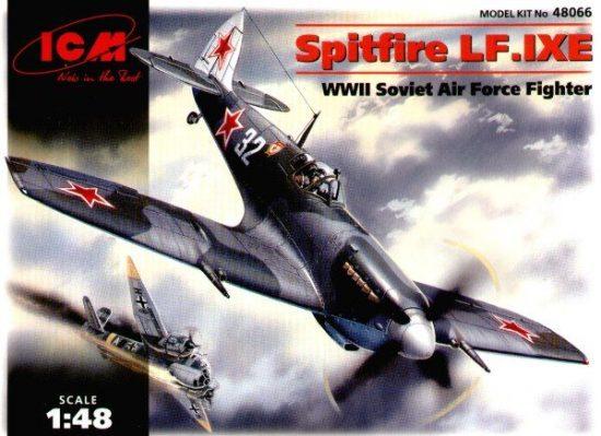 ICM Spitfire LF Mk.IXE makett
