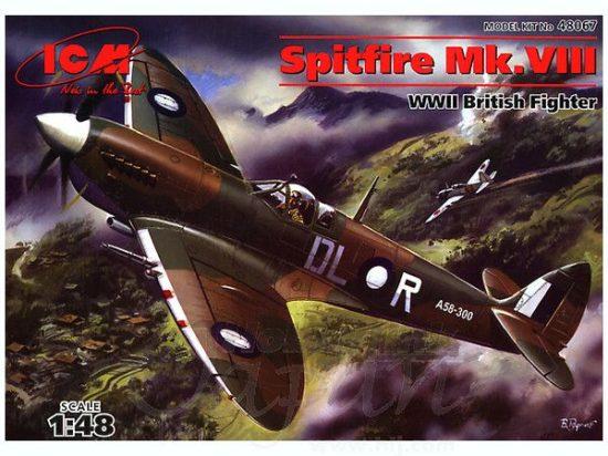ICM Spitfire Mk.VIII British Fighter