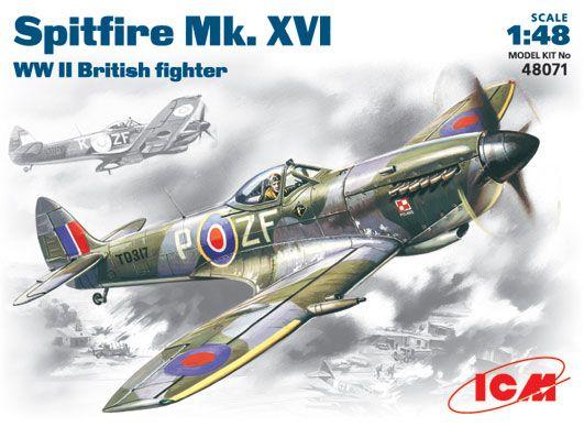 ICM Spitfire Mk.XVI makett