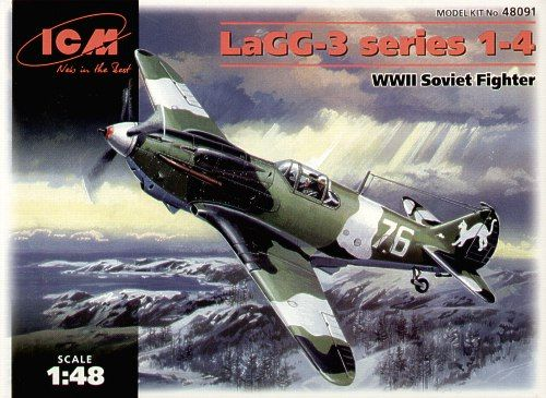 ICM Lavochkin LaGG-3 Series 1-4 makett