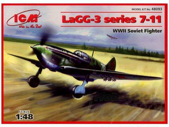 ICM Lavochkin LaGG-3 Series 7-11 makett