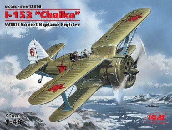 ICM Polikarpov I-153 Chaika makett