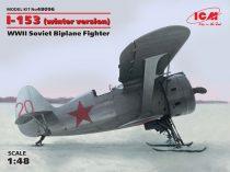 ICM Polikarpov I-153 WWII Soviet Biplane Fighter (winter version) makett