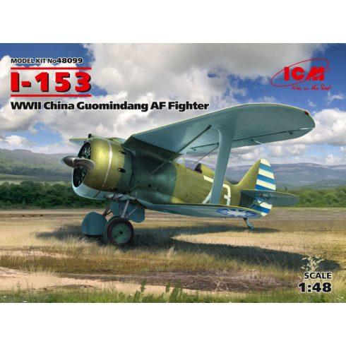 ICM I-153,WWII China Guomindang AF Fighter makett