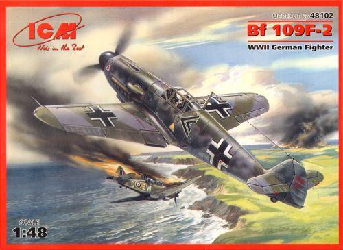 ICM Messerschmitt Bf 109F-2 makett