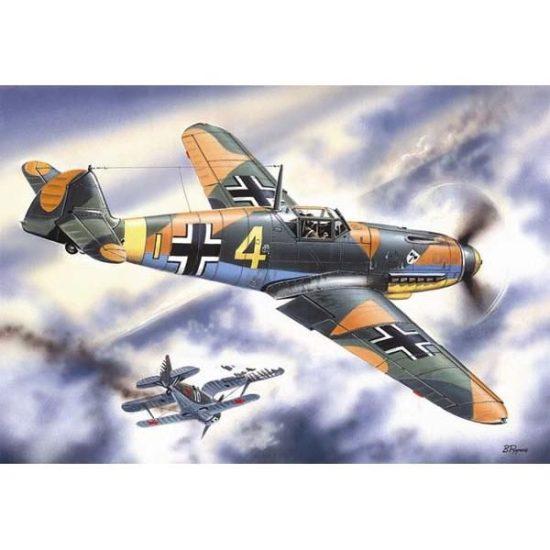 ICM Messerschmitt Bf 109F-4 makett