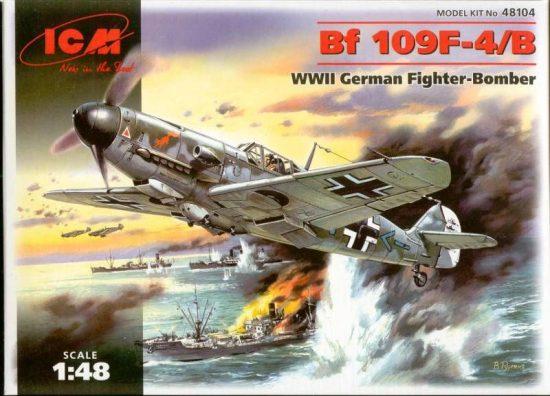 ICM Messerschmitt Bf 109F-4B makett