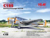 ICM Beech C18S American Passenger Aircraft makett