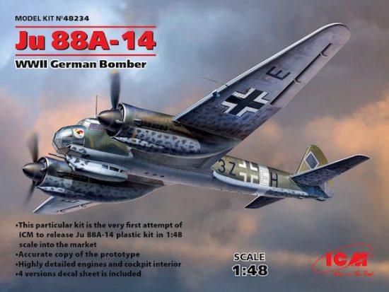 ICM Junkers Ju 88A-14 makett